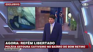 Polícia liberta refém de cativeiro em São Paulo