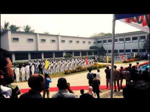 Bangladesh Marine Academy Cap-throwing 50th Batch