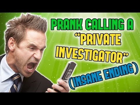 "Pranking a ""Private Investigator"" (INSANE ENDING)"