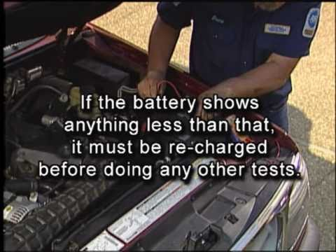 Removing the Car Battery - AutoZone Car Care