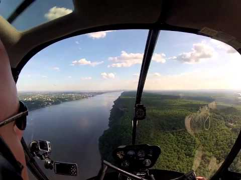 Helicopter Ferry Flight from Boston to Western North Carolina - Pt 1