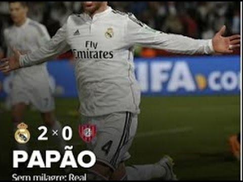 Real Madrid 2 x 0 S�o Louren�o �udio: Cope - Mundial de Clubes da FIFA