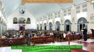 Tĩnh tâm Mùa Chay  NHÌN VÀO ÁNH MẮT CHÚA GIÊSU  tại GX Tân hà với Cha DCCT GIUSE NGUYỄN THỂ HIỆN  02