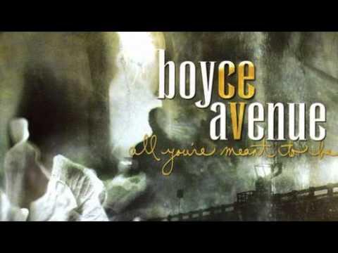 Boyce Avenue - All The While