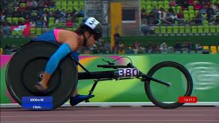 Team USA Sweeps Women's T54 5000m | Parapan American Games Lima 2019