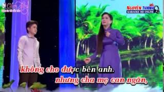 Karaoke Trách Ai Bây Giờ_ Song ca với Cẩm Tiên