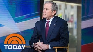 George W. Bush On President Trump, Putin, Religious Freedom, Immigration (Exclusive) | TODAY by : TODAY