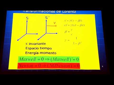Conferencia dada en el ININ por el Dr. Hugo Morales-Técotl denominadas: Breve historia del Universo