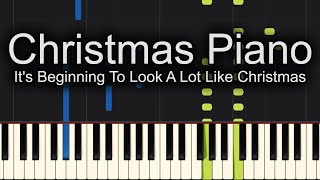 It 39 S Beginning To Look A Lot Like Christmas Michael Bublé Piano