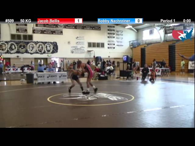 FILAJR WTT: 50 KG Jacob Bellis (Kyle Somers) vs. Bobby Nachreiner (AWA)