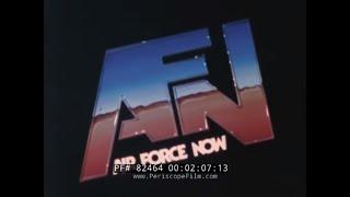 1980s U.S. AIR FORCE NEWS MAGAZINE   AWACS AIRCRAFT  INGOLSTADT AFB WEST GERMANY  82464