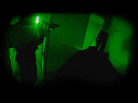 Versión del CQB con efecto gafas vision nocturna.