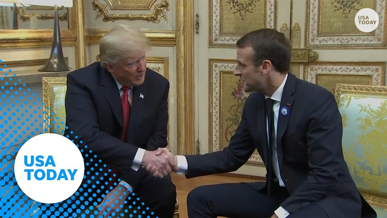 Trump to Macron: We need a 'strong Europe' and to talk about terrorism