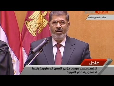 Mursi going too pharaoh?