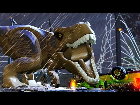 LEGO JURASSIC WORLD Game - Launch Trailer (PS4 / Xbox One)