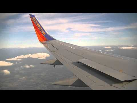 Southwest Airlines Boeing 737-300 Flight From Detroit To Nashville
