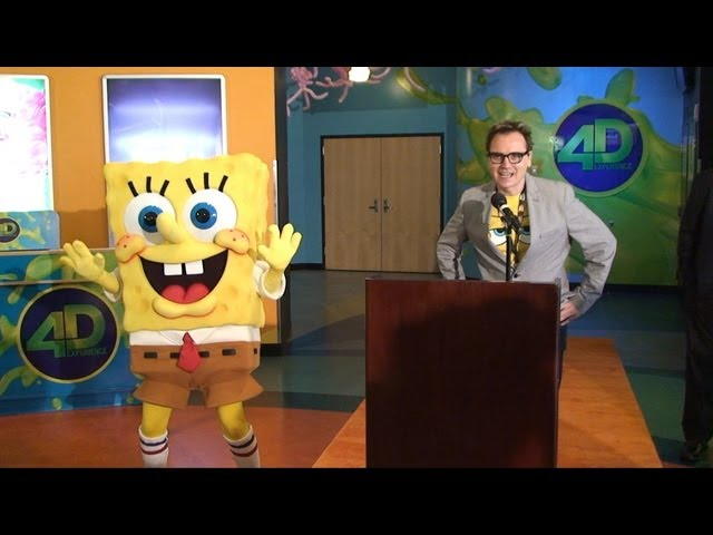 SpongeBob SquarePants: 4-D The Great Jelly Rescue Premiere at Nickelodeon Suites Resort in Orlando