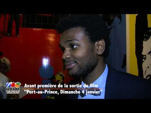 """Avant première du film """"PORT AU PRINCE, 4 janvier"""""""