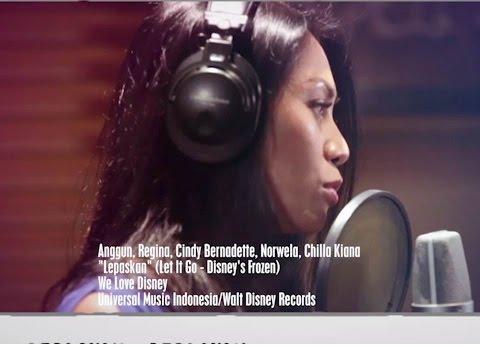 Anggun, Regina, Cindy Bernadette, Nowela, Chilla Kiana - Lepaskan (