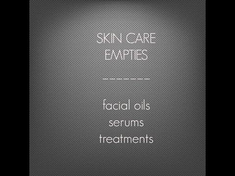 EMPTIES I Face Oils, Serums + MORE ~ MURAD, PERRICONE, PHILOSOPHY, TARTE