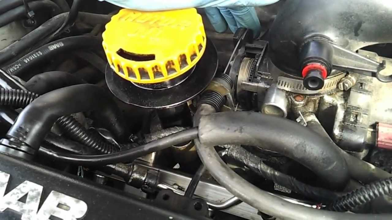 Saab 9-5 Engine After Rebuild Without Maf Mp4