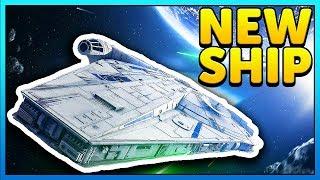 New LANDO'S MILLENNIUM FALCON Gameplay + NO HUD - Star Wars Battlefront 2