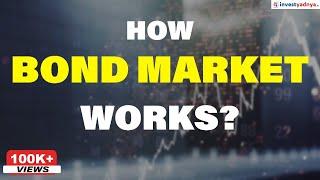 How Bond Market works? | Understanding Debt Market with example | Bond Market in India - Part 1