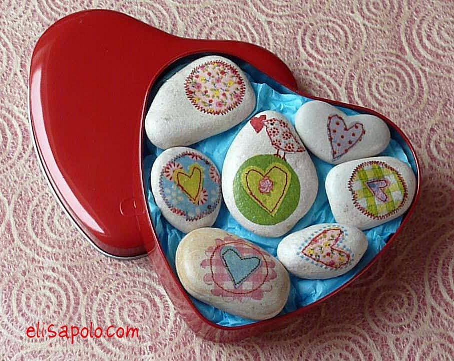 Manualidades para san valentin c mo decorar piedras valentine 39 s ideas stone crafts youtube - Piedras para decorar ...