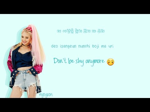 Triple T (Hyoyeon X Min X Jo Kwon) Born to be Wild Lyrics (feat. JYP) (Han|Rom|Eng) Color Coded