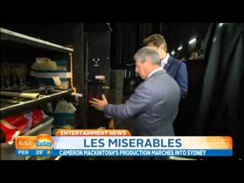 Les Miserables Australia - Sir Cameron Mackintosh on Today Show