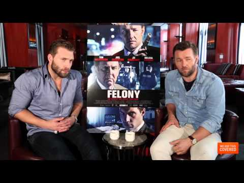 Felony Interview With Jai Courtney and Joel Edgerton [HD]