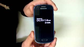 Samsung S3 Mini i8190 i8200 como aplicar o hard reset