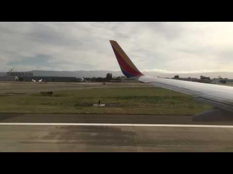Flight - San Jose International Airport to LAX - Take Off