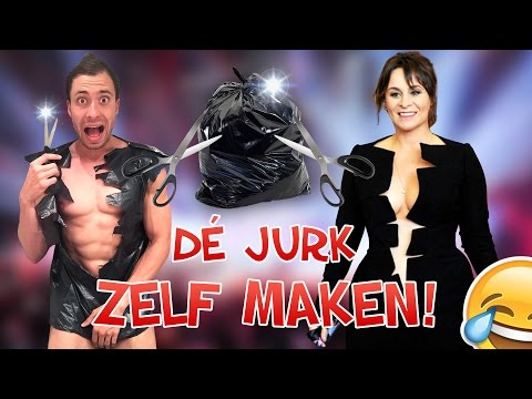 DIY: Trijntje Oosterhuis Songfestival Jurk! #DeJurk