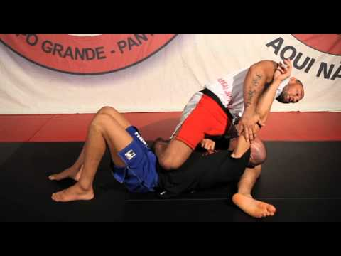 BJJ Cyborg No Gi Triangle #1 From Knee On Belly BJJ Image 1