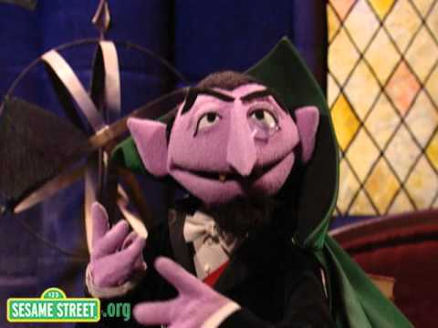 Sesame Street Count 5 Sesame Street Counting Bats