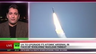 UK TO UPGRADE NUCLEAR ARSENAL AFTER THREATS FROM N.KOREA & IRAN