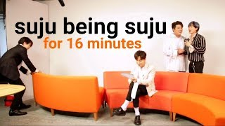 suju being suju for 16 minutes / a loud suju compilation