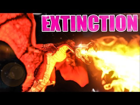 ARK: Survival Evolved - HOW TO LOSE EVERYTHING! STREAM FOOTAGE :P #2 - Extinction Modded Gameplay