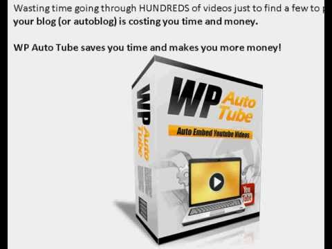 WP Auto Tube – WordPress Auto Tube Review – Pro's and Con's