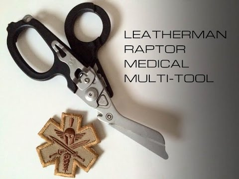 Leatherman Raptor- Black Scout Reviews