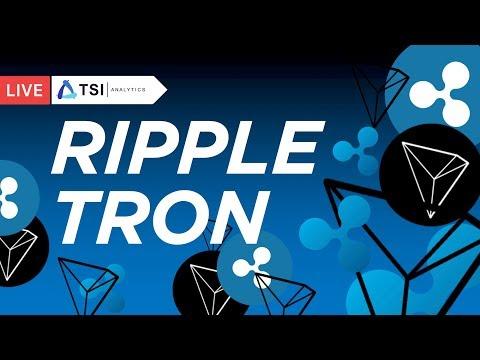 Ripple, Tron — история повторяется| Прогноз цены на Биткоин, Рипл, Криптовалюты
