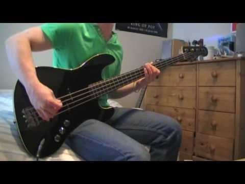 "Hey this is me playing the bassline from ""Glamorous indie rock and roll"" by ""The Killers"" From their album ""Hot fuss"" I hope you all like the video. comments..."