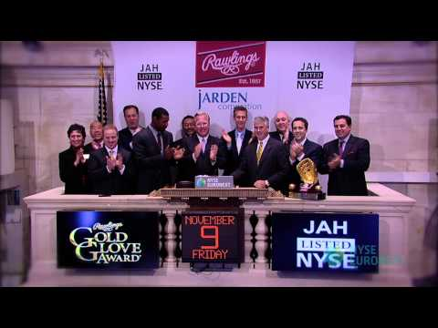 Rawlings Sporting Goods Visits the New York Stock Exchange