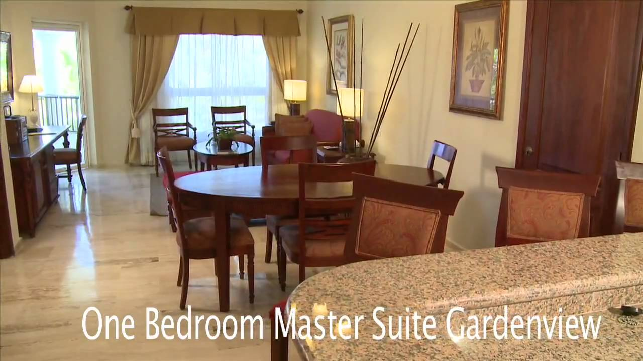 Paradisus Palma Real One Bedroom Master Suite Garden View Room Preview Youtube