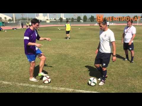 5 упражнений на технику владения мячом. Координация | Чемпионат