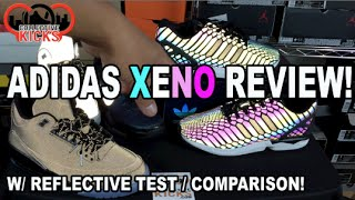 Amazing Technology!!! 'Xeno' adidas ZX Flux Review With Reflective Test