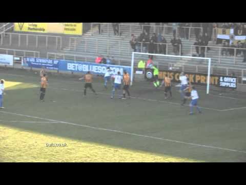 Boston United v Vauxhall Motors Highlights 02032013