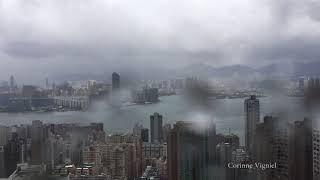Part 1 - Timelapse Typhoon Hato rolls over Hong Kong