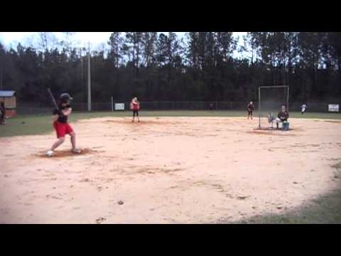 Taylor McDaniel - 2013 Graceville High School - Hitting